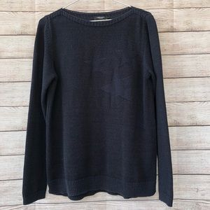 OLSEN EUROPE Navy Blue Knit Sweater